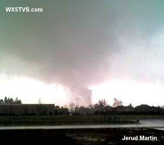 01.10.08 Vancouver, Washington Tornado