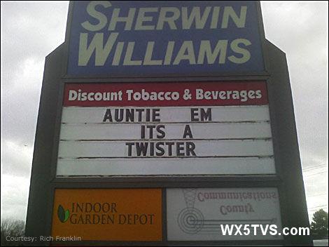 It's a Twister!
